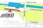 Mapka dojazdu :: Mapa dojazdu do warszatu